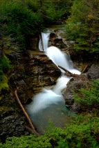 Cascade; Glacier NP; by bill fortney