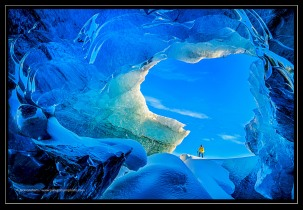Ice Cave, Iceland; X-T1 by jack graham