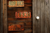 license plates XE-1 18-55 by bill fortney