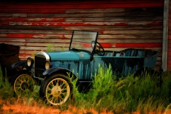 Old Ford; X-T1 by bill fortney