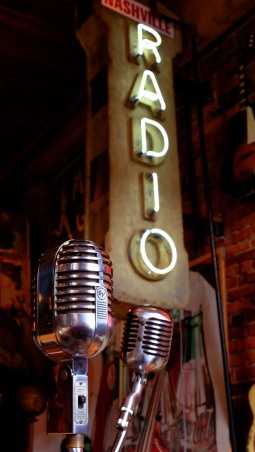 Radio and Mics; Antique Archaeology Store, Nashville, TN; Fuji X-T1 by bill forntey
