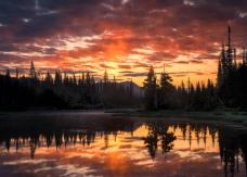 Reflection Lake, WA; X-T1 14mm by jack graham