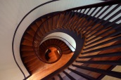 spiral stairs; X-t1, 10-24 by bill fortney