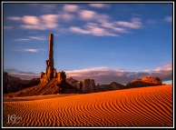 Totem Pole, Monument Valley, Utah; X-T1 by jack graham