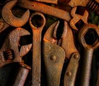 wrenches; Marathon Motorworks, Nashville, TN; X-E1 by bill fortney