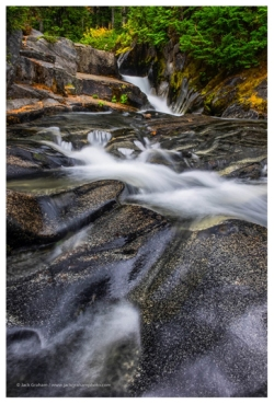 stream in mt rainier national park by jack graham