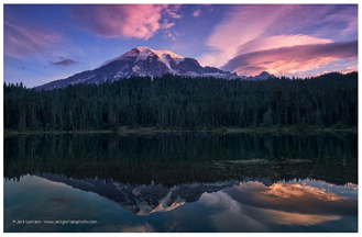 Mt Rainier, Reflection lake by Jack Graham